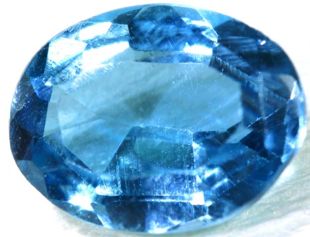 BLUE TOPAZ NATURAL FACETED 1.3 CTS PG-1867