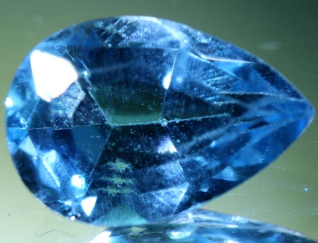 BLUE TOPAZ NATURAL FACETED 1.6 CTS PG-1870