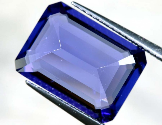 5.76 CTS  CERTIFICATE TANZANITE FACETED  TBM-879