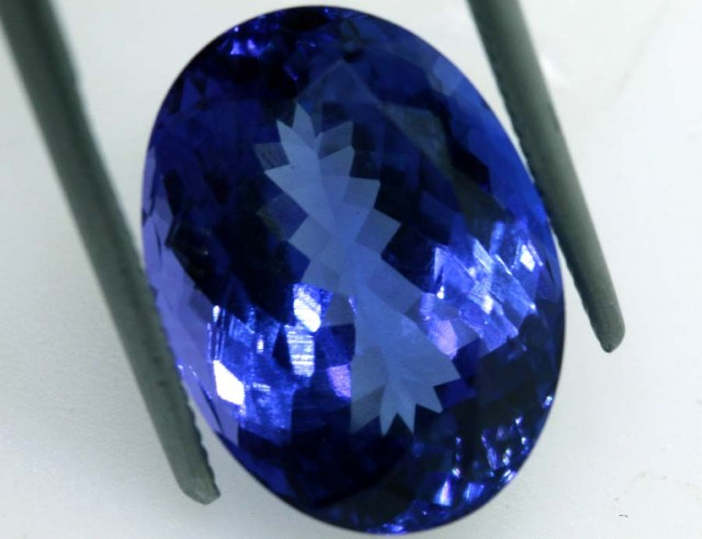 9.16 CTS  CERTIFICATE TANZANITE FACETED  TBM-886