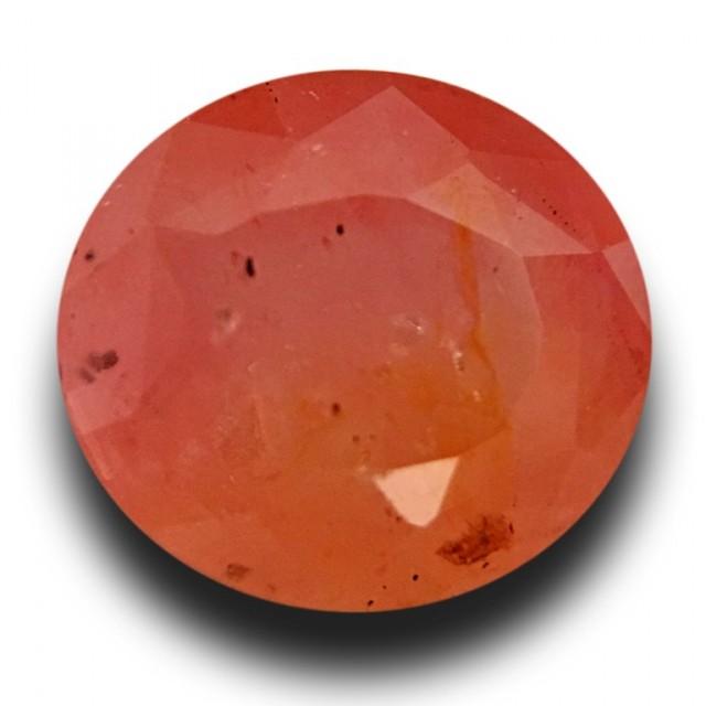 1.59 Carats | Natural Pinkish Orange Padparadscha | Loose Gemstone | Sri La