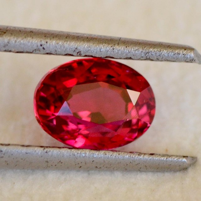 1.07cts Red Ruby - Mozambique - Unheated