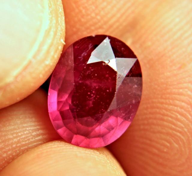 5.16 Carat Fiery, Flashy Ruby - Gorgeous
