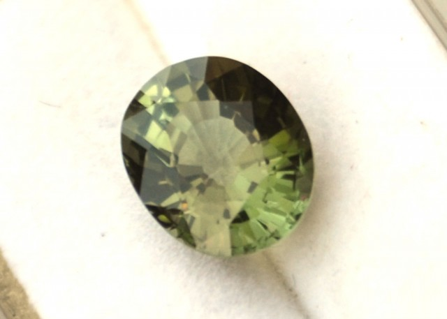 2.17 Carat Oval Cut Nice Green Tourmaline
