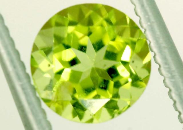 1 CTS PERIDOT BRIGHT GREEN PAIR (2 PCS)   CG-2197