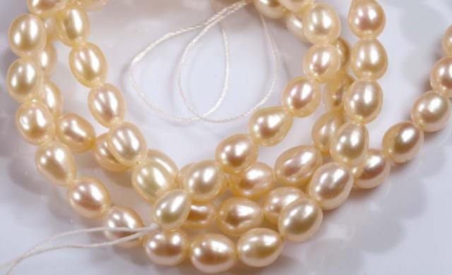 65.5 CTS PEARL BEADS DRILLED  NP-2020