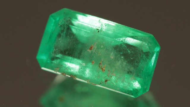 .855ct Colombian Emerald