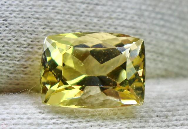 Wow~3.95 CT Natural & Beautiful Golden Yellow Heliodor beryl gemstone