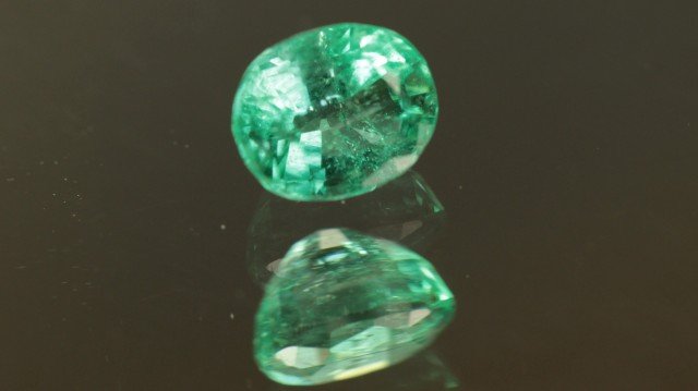 .487ct Panjshir Emerald