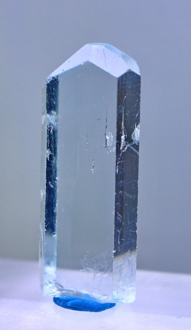 23.55 Cts Natural & Unheated Water Blue Aquamarine Crystal