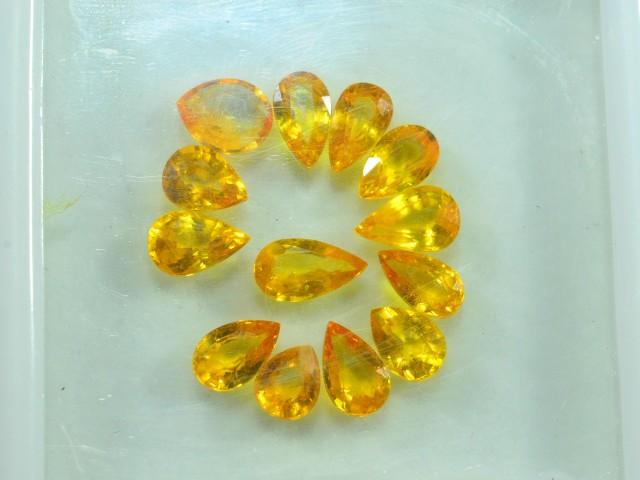 11.240 ct Natural Yellow Sapphire Lot~ Sri Lanka