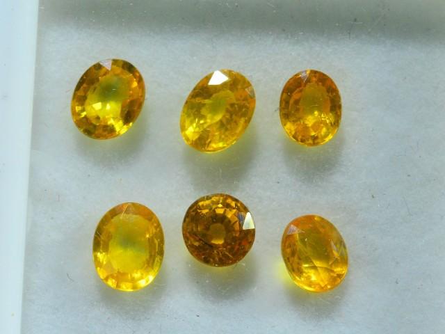 5.25 ct Natural Yellow Sapphire Lot~ Sri Lanka