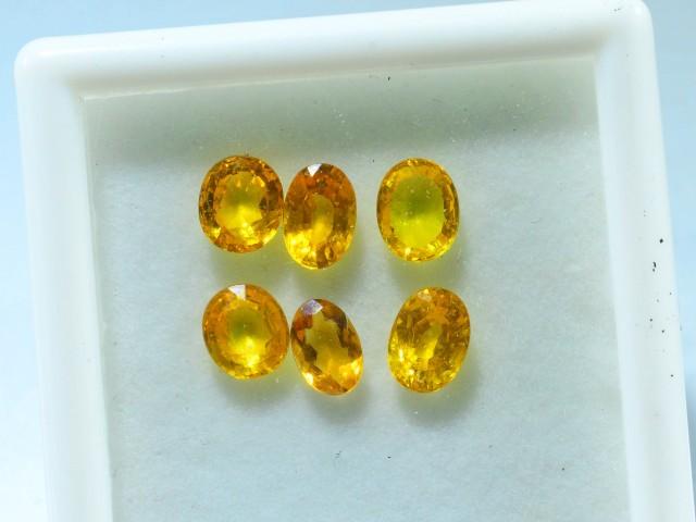 5.030 ct Natural Yellow Sapphire Lot~ Sri Lanka
