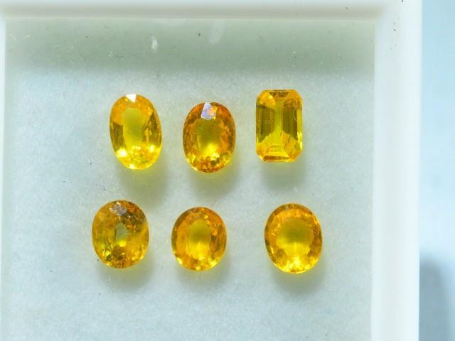 5 ct Natural Yellow Sapphire Lot~ Sri Lanka