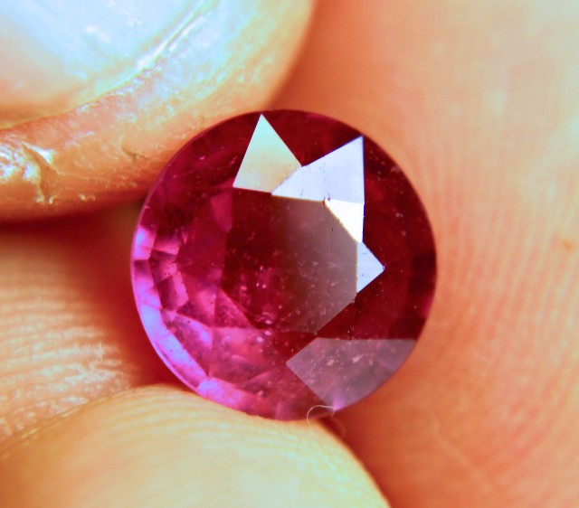 3.6 Ct. Fiery, Vibrant Ruby - 9MM - Gorgeous