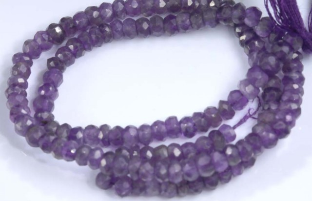 36 CTS AMETHYST BEAD FNP 14 NP-2124