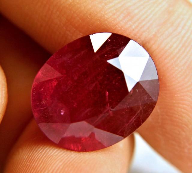 26.43 Carat Fiery Genuine Ruby - Superb