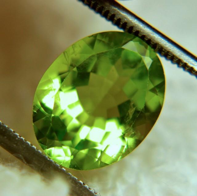3.15 Carat Grass Hopper Green VS/SI Peridot