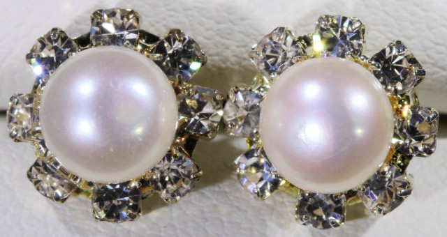 Natural Pearl Earrings PPP 1246
