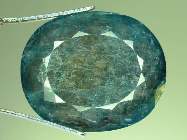 14.155 ct Grandidierite Extremely Rare Gemstone Madagascar