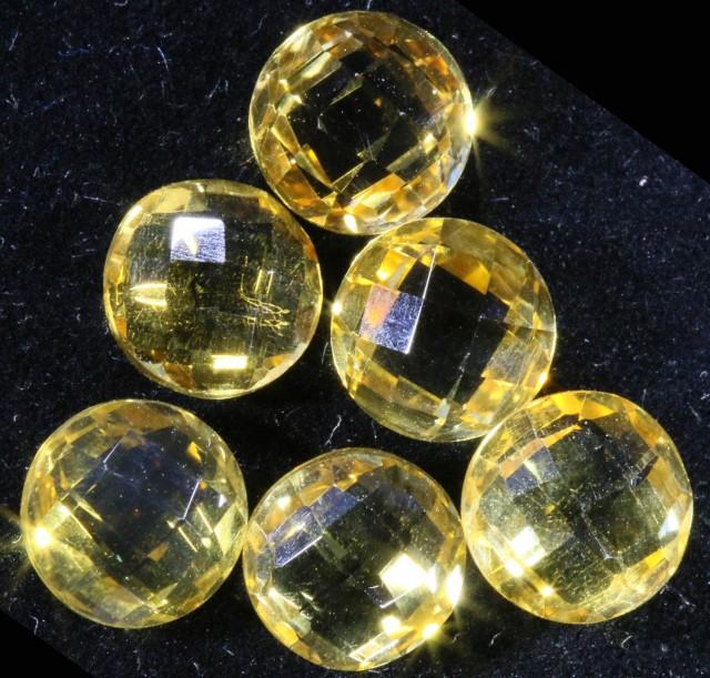 12.70 Cts Oberstein cut Golden Citrine Gemstones GOGO 1371