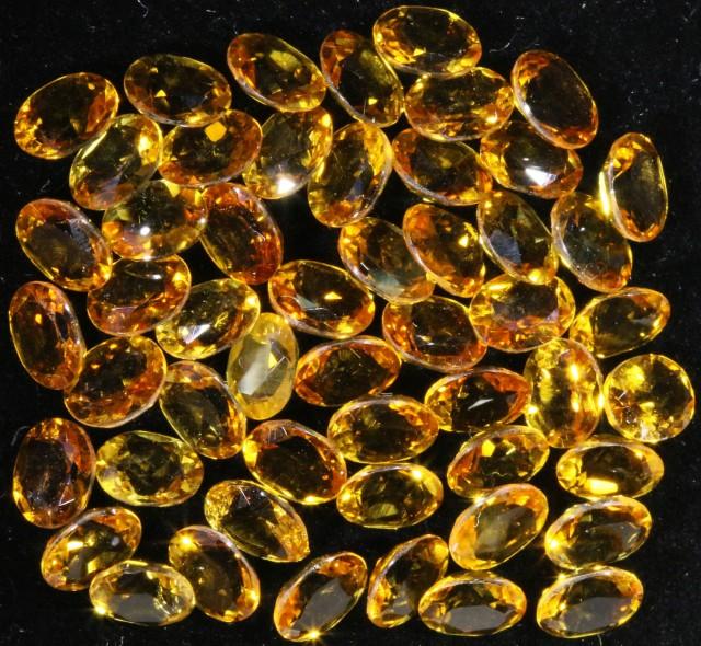 15.74 Cts Oberstein cut Golden Citrine Gemstones GOGO 1373