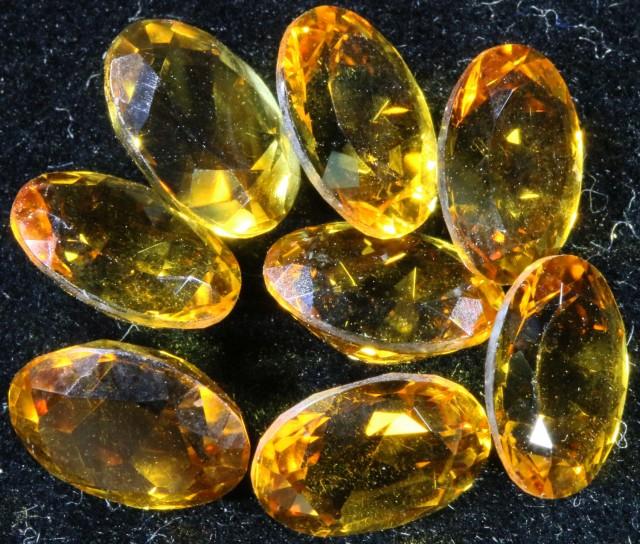 8.90 Cts Oberstein cut Golden Citrine Gemstones GOGO 1376