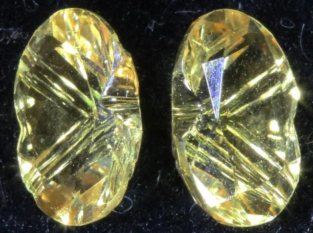 2.95 Cts Oberstein cut Golden Citrine Gemstones GOGO 1387