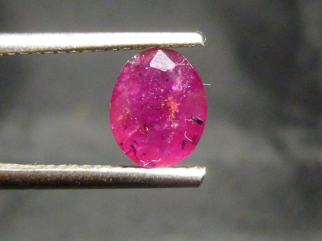 1.32cts Natural Ruby , Untreated Gemstone