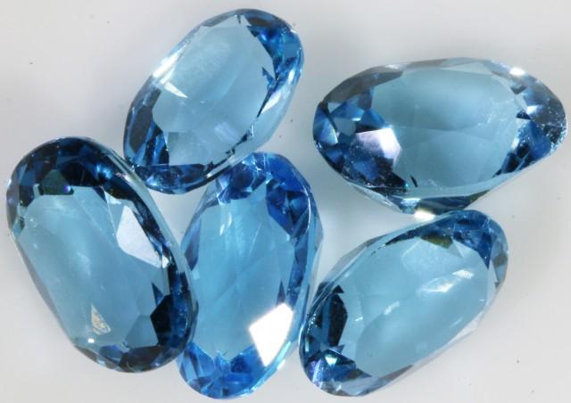 7.20 Cts  Blue  Brazilain Blue  Topaz Gemstone  GOGO 1395