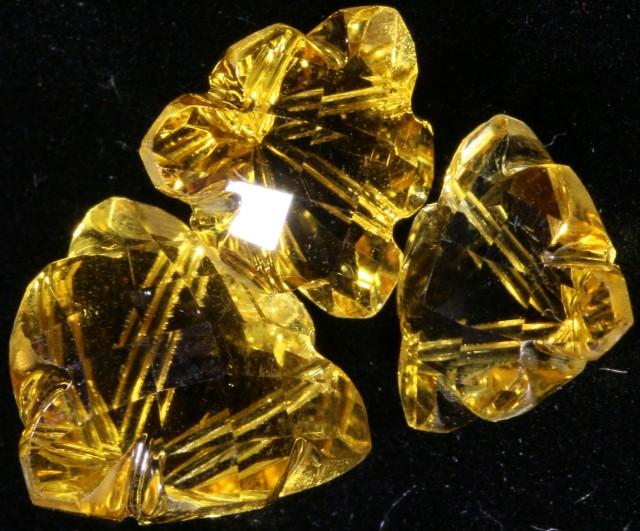 9.00 Cts Oberstein cut Golden Citrine Gemstones GOGO 1412