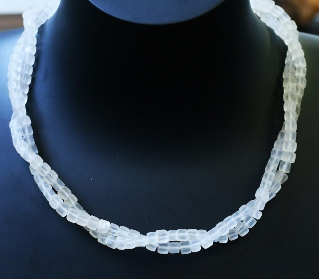 150.00 Cts two Strand Crystal bead strands  GOGO 1490
