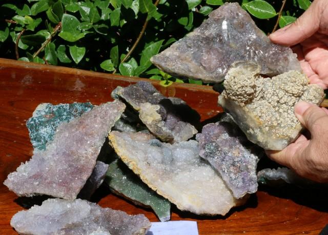 6 Kilo Amethyst Crystal Parcel AMT25