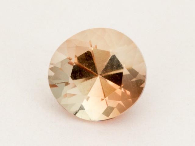 0.65ct Peach Round Sunstone (S2478)