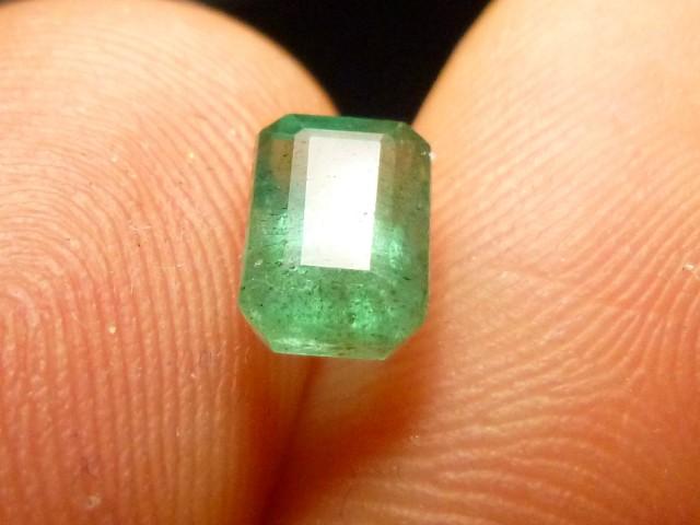 1.39cts Zambian Emerald , 100% Natural Gemstone