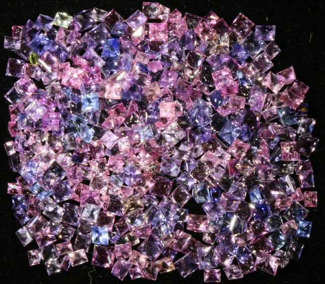 28.25 Cts   Pink Sapphires GOGO 1576