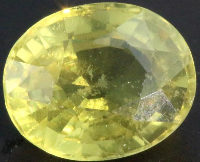 1.30 Cts Songea Sapphire GOGO 1645