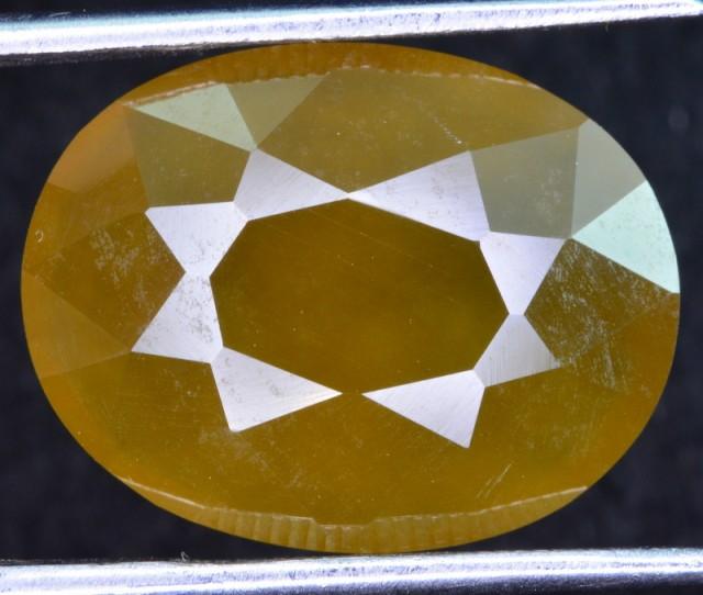 natural 11.10 ct untreated stunning hydrogrosular garnet gemstone