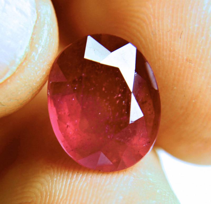 10.57 Carat Fiery Ruby - Gorgeous