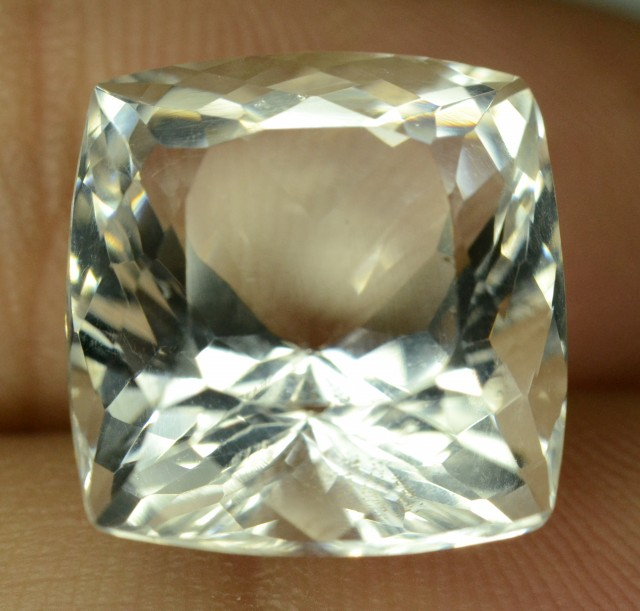 Rare 11.50 ct Natural Kunar Pollucite Collector's Gem
