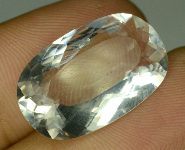 Rare 11.60 ct Natural Kunar Pollucite Collector's Gem