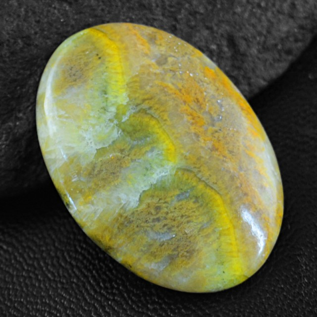 Genuine 34.00 Cts Untreated Bumble Bee Jasper Cab