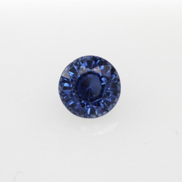 0.48cts Natural Australian Blue Sapphire Round Cut