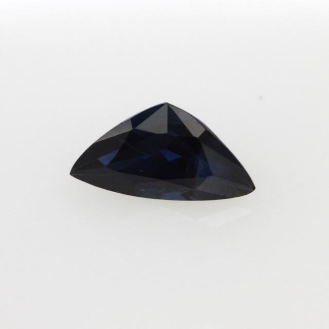 0.56cts Natural Australian Blue Sapphire Trillion Cut