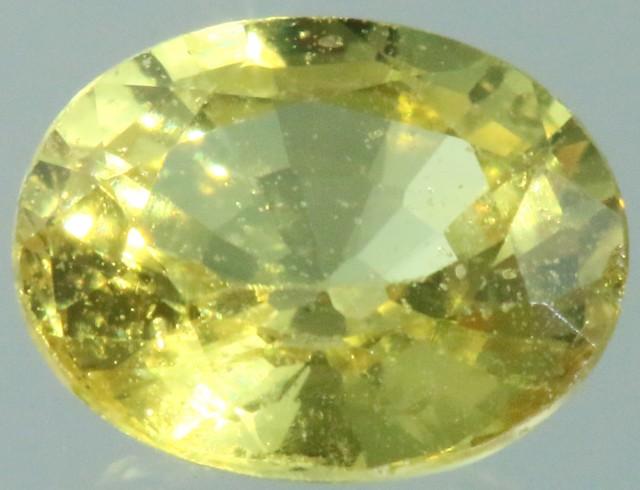 0.65 Cts Songea Sapphire GOGO 1713
