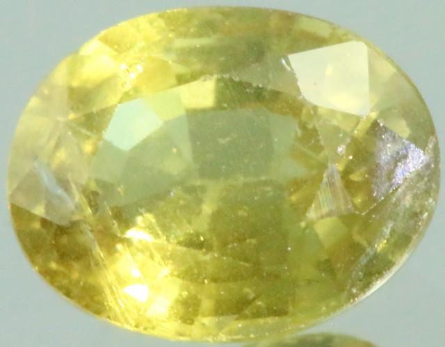 1.65 Cts Songea Sapphire GOGO 1751