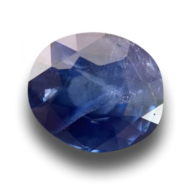 1.72 CTS Natural Blue sapphire |Loose Gemstone|New Certified| Sri Lanka