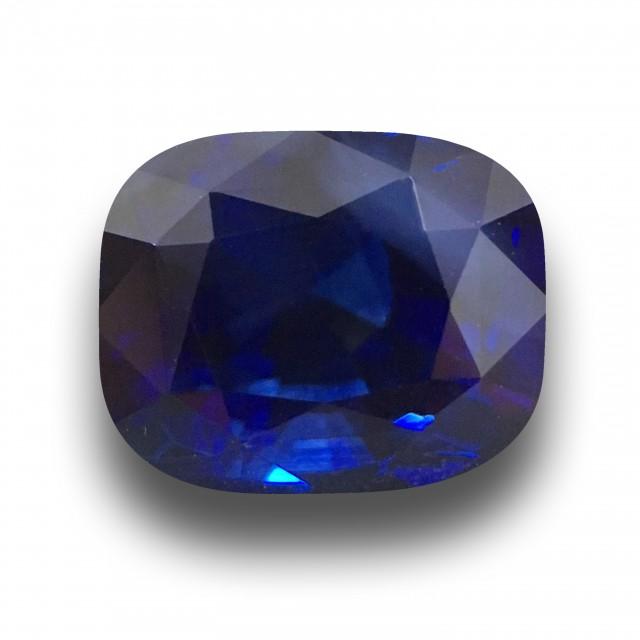 6.16 CTS   Natural Royal Blue Sapphire  Loose Gemstone New  Sri Lanka