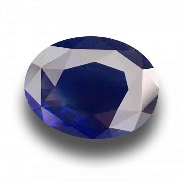 2.88 CTS | Natural Royal Blue sapphire |Loose Gemstone|New| Sri Lanka