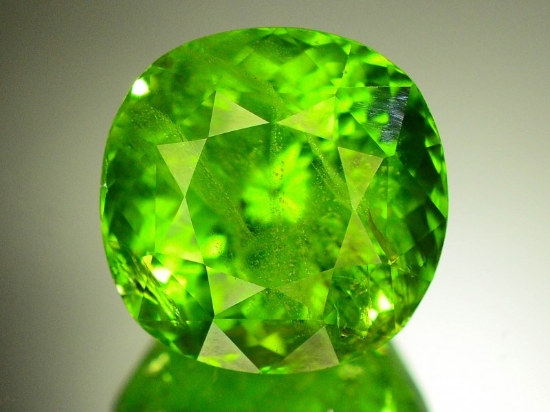 Stores That Accept Paypal Credit Online >> 16.05 Ct Natural Dark Green Peridot